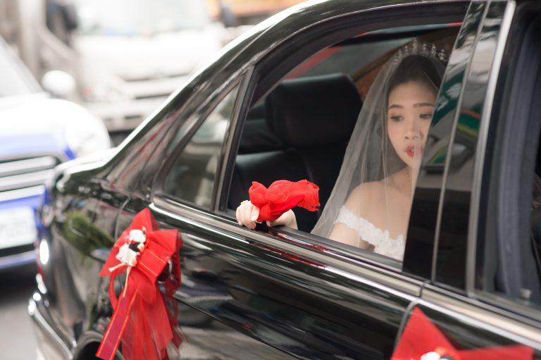 婚攝-丟扇子