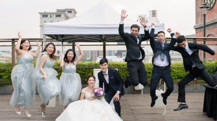《婚攝》維多麗亞戶外證婚