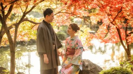 京都楓葉季婚紗