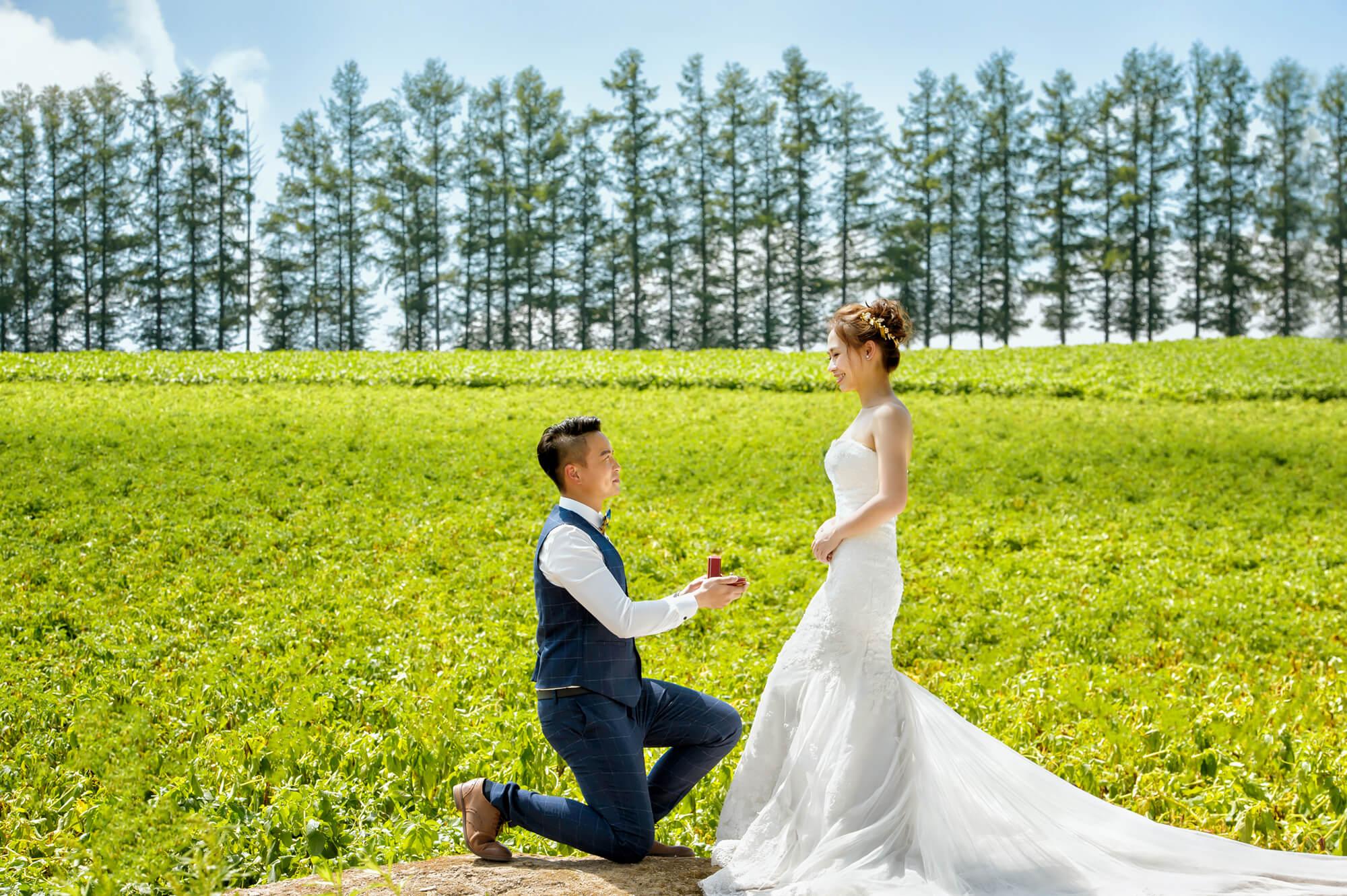 北海道婚紗