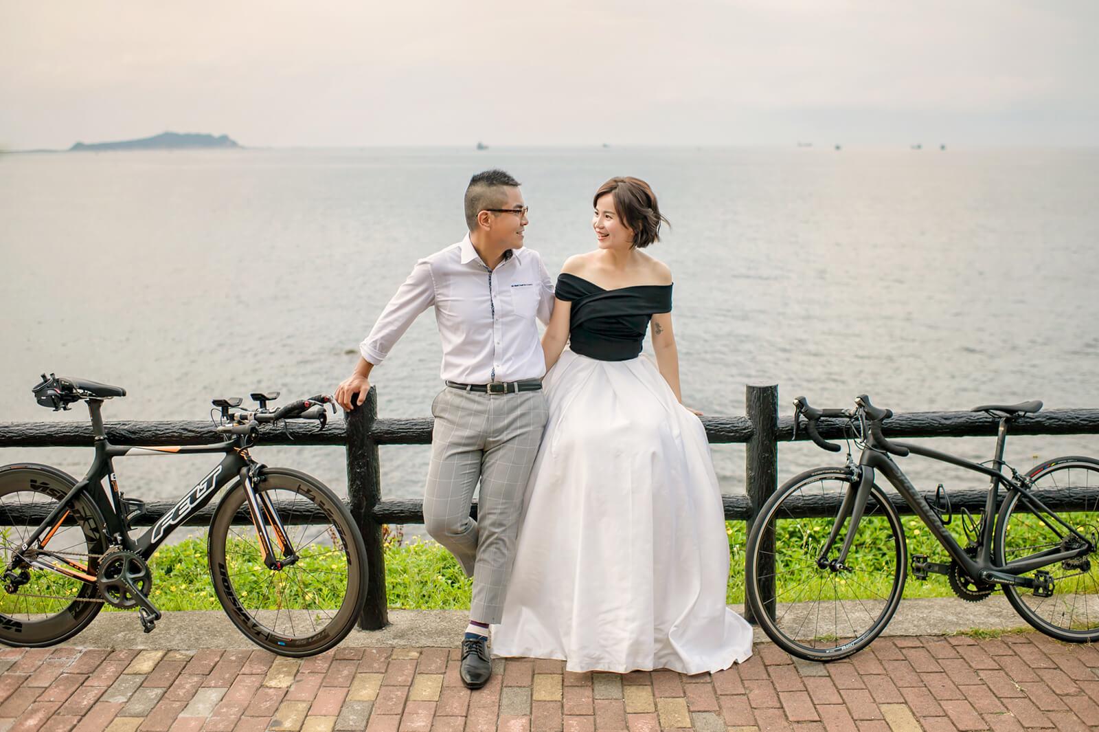 外木山婚紗,腳踏車婚紗