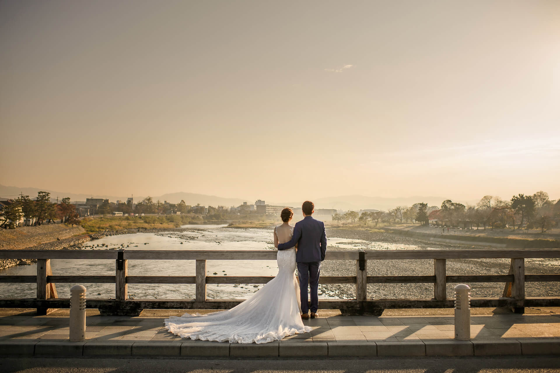 京都婚紗,嵐山婚紗,日本婚紗,嵐山渡月橋