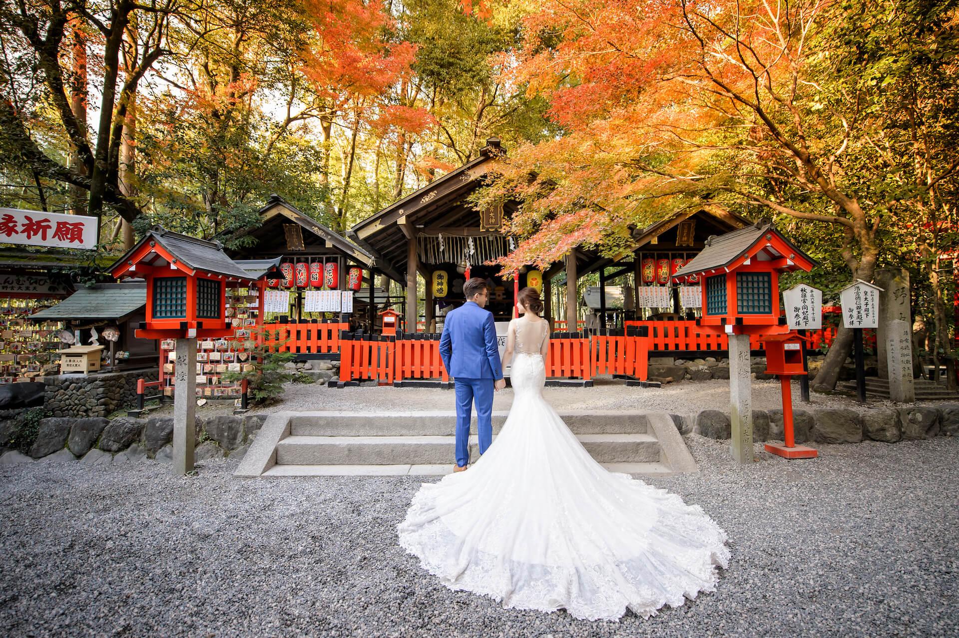 京都婚紗/嵐山楓葉婚紗