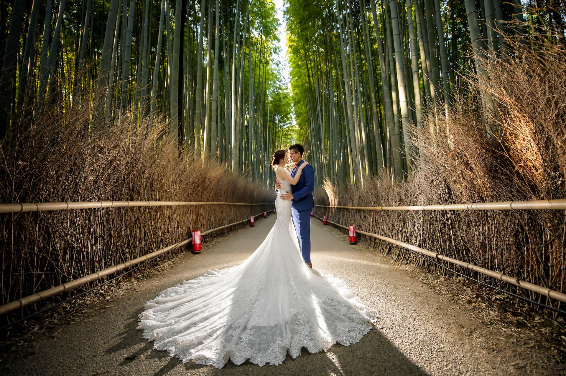 京都婚紗,嵐山婚紗,嵐山竹林