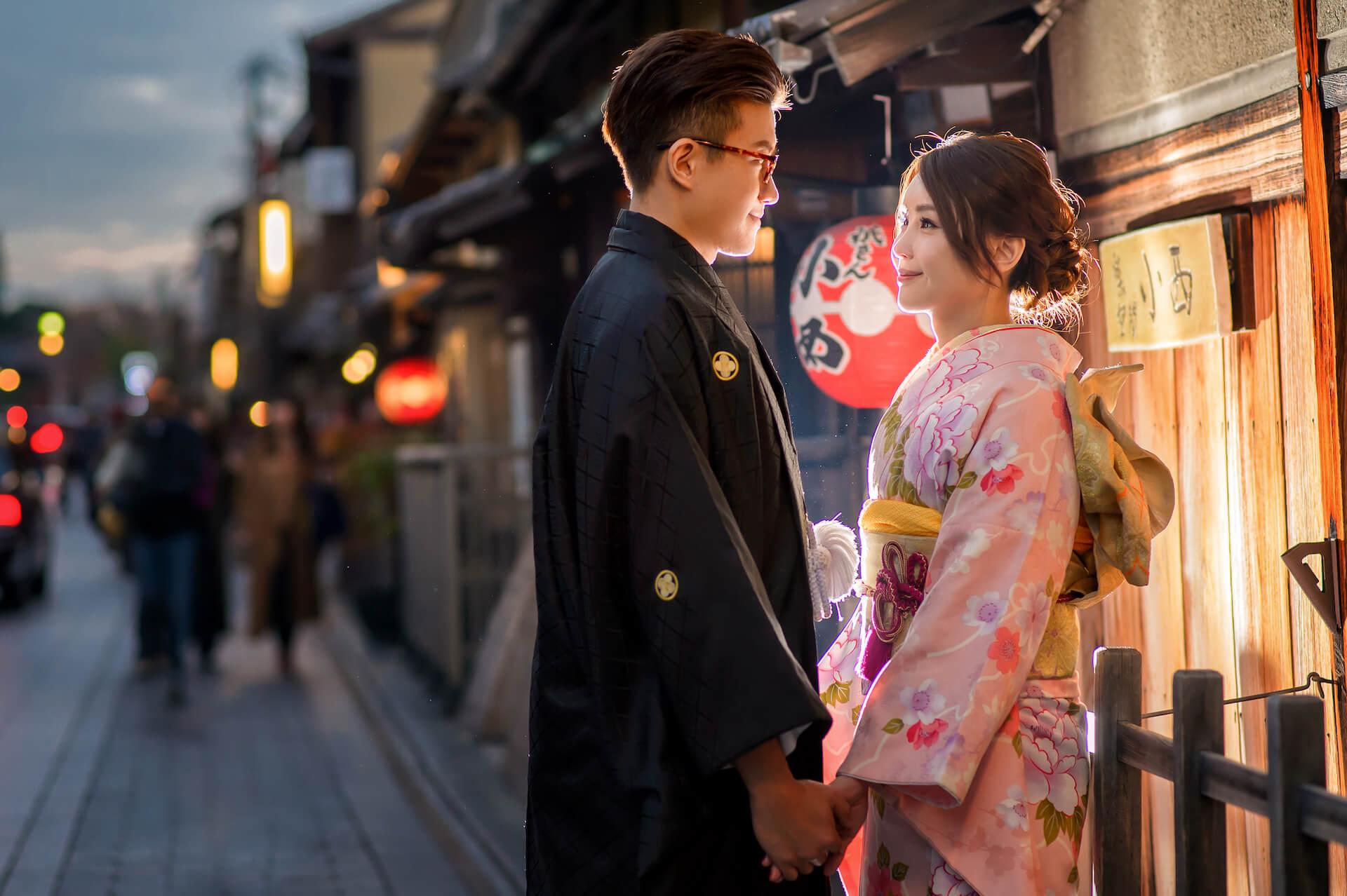 京都婚紗,和服,祇園和服