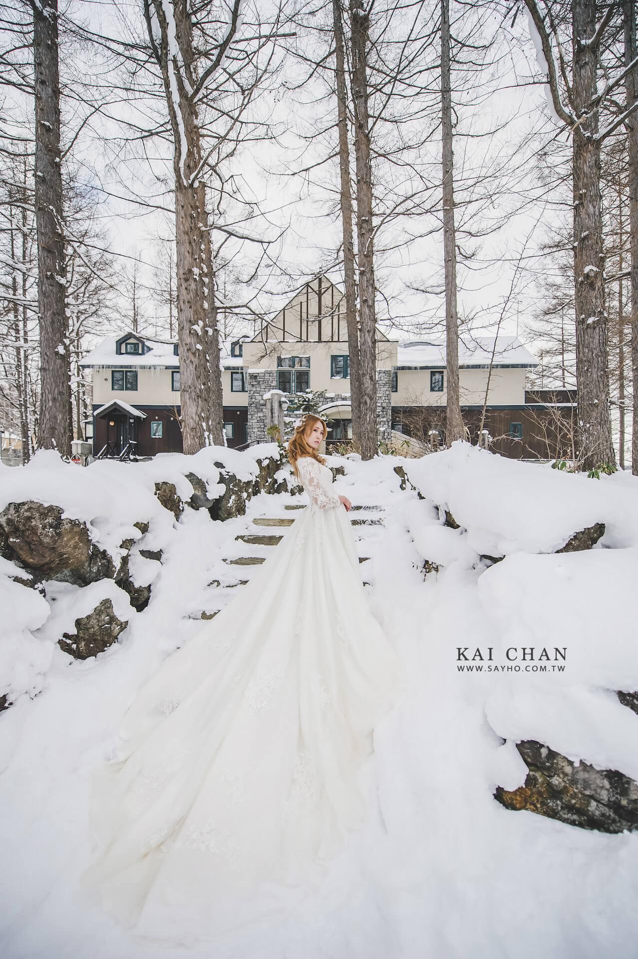 緩慢民宿婚紗,北海道婚紗