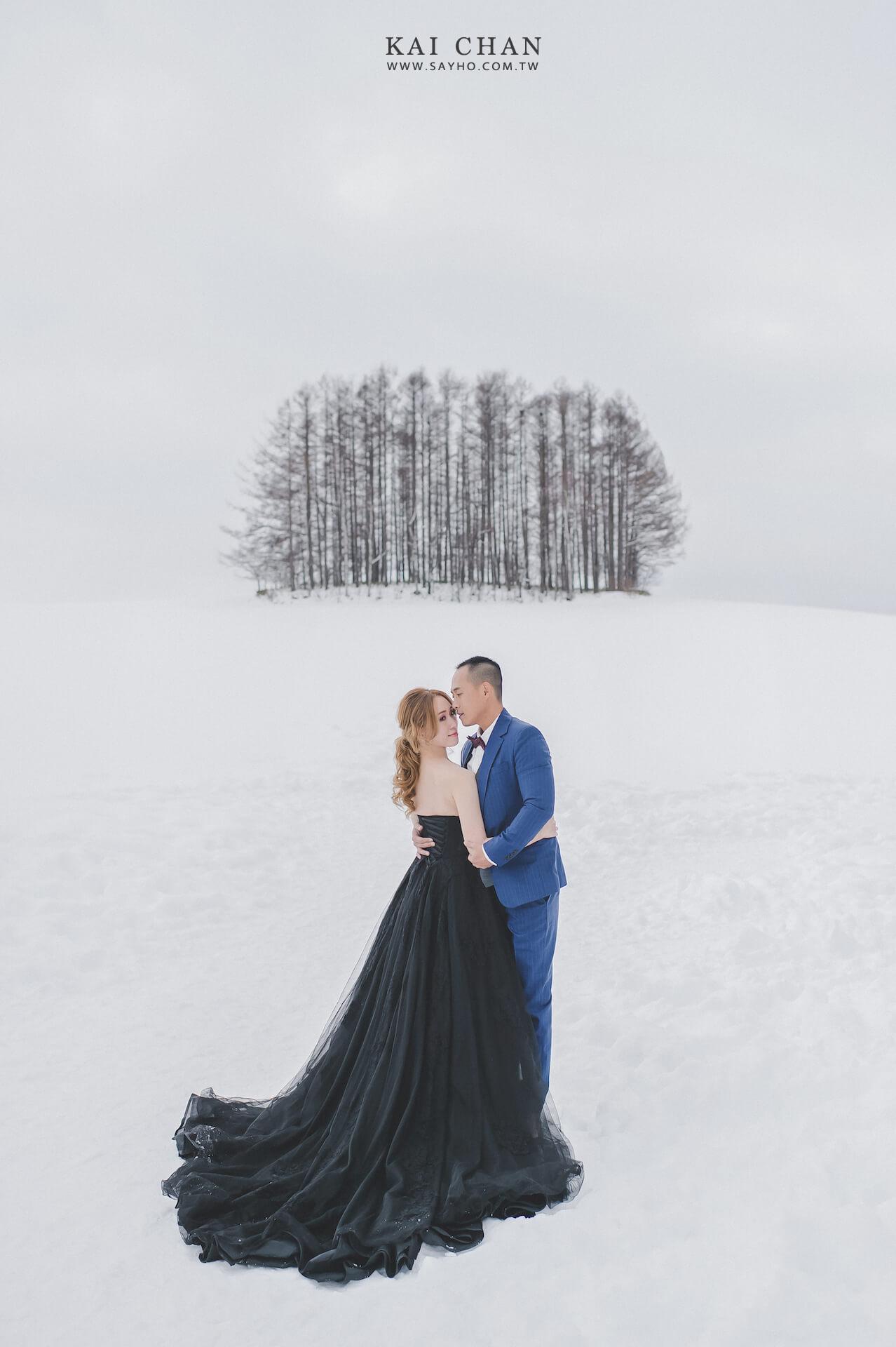 北海道婚紗,美瑛婚紗