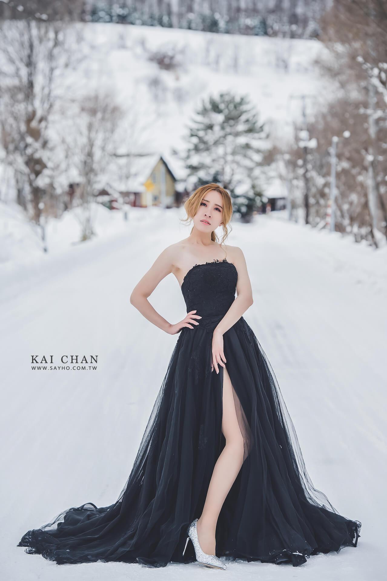 美瑛景點,北海道婚紗,雪景婚紗