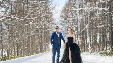絕美!北海道拍婚紗,大推!雪國浪漫愛情