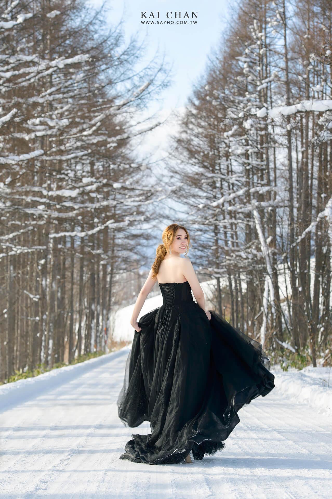 美瑛景點,美瑛旅遊,北海道婚紗,雪景婚紗