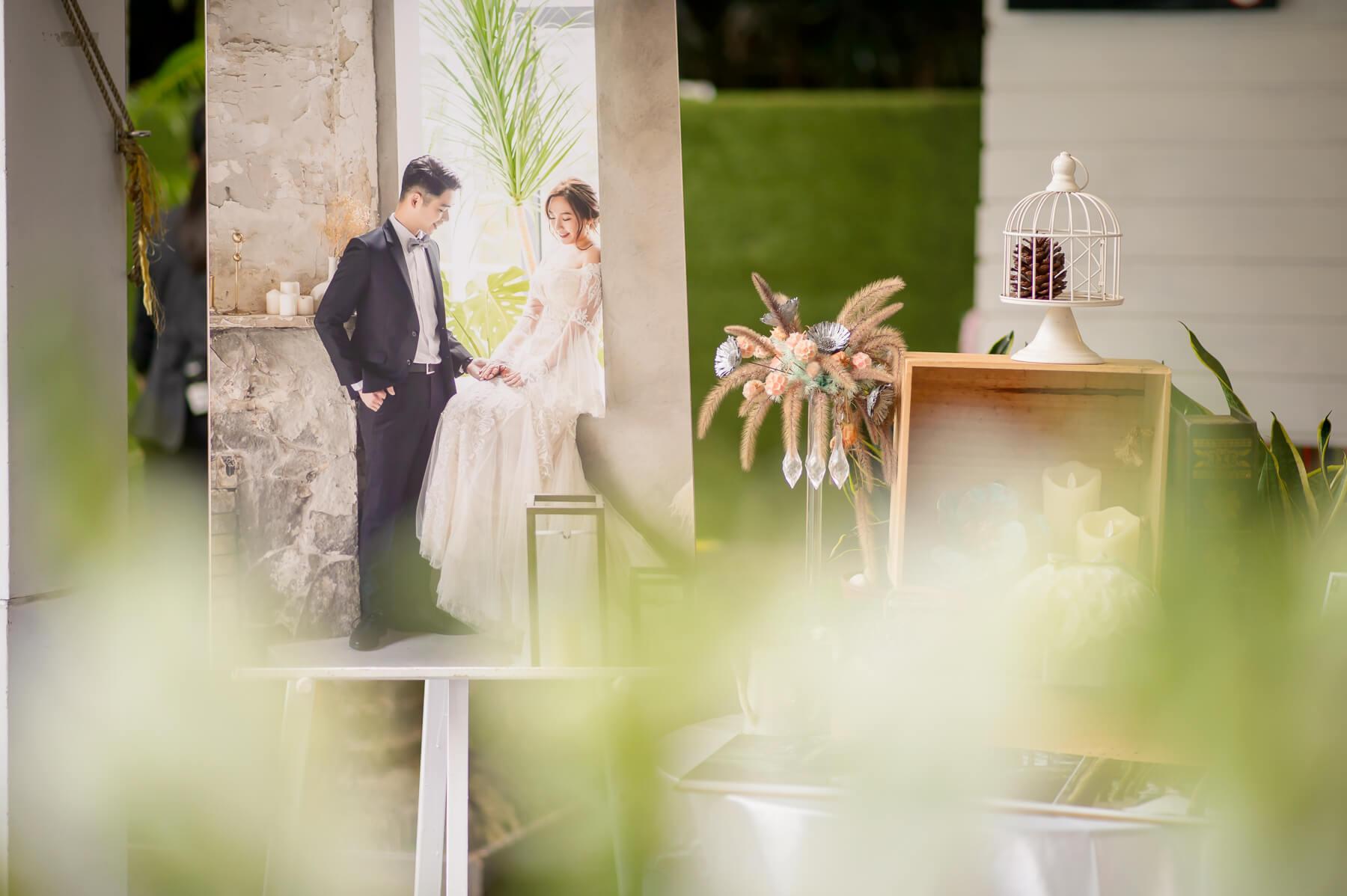 《婚攝》青青食尚花園會館/費加洛教堂-櫂璿&志欣